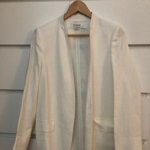Jackets & Blazers - NWOT Morgan White Jacket